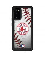 Boston Red Sox Game Ball Galaxy S20 Waterproof Case