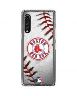 Boston Red Sox Game Ball LG Velvet Clear Case