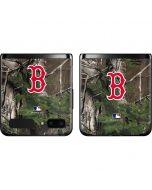 Boston Red Sox Realtree Xtra Green Camo Galaxy Z Flip Skin