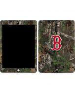 Boston Red Sox Realtree Xtra Green Camo Apple iPad Skin