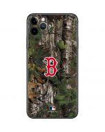 Boston Red Sox Realtree Xtra Green Camo iPhone 11 Pro Max Skin