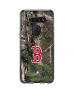 Boston Red Sox Realtree Xtra Green Camo LG K51/Q51 Clear Case