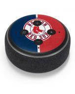 Boston Red Sox Split Amazon Echo Dot Skin
