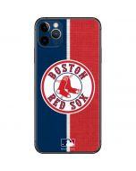 Boston Red Sox Split iPhone 11 Pro Max Skin