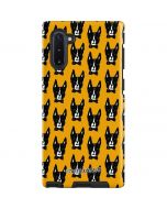 Boston Terrier Galaxy Note 10 Pro Case
