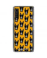 Boston Terrier LG Velvet Clear Case