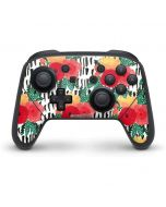 Bouquets Print 3 Nintendo Switch Pro Controller Skin