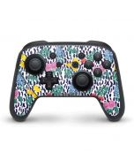 Bouquets Print Nintendo Switch Pro Controller Skin