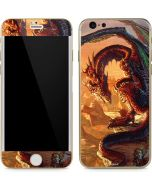 Bravery Misplaced Dragon and Knight iPhone 6/6s Skin