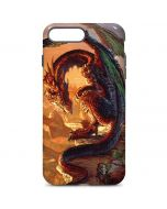 Bravery Misplaced Dragon and Knight iPhone 7 Plus Pro Case