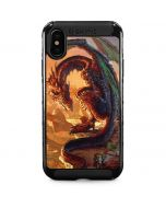 Bravery Misplaced Dragon and Knight iPhone XS Max Cargo Case