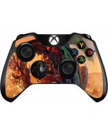 Bravery Misplaced Dragon and Knight Xbox One Controller Skin