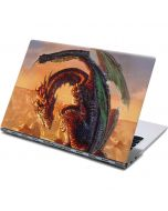 Bravery Misplaced Dragon and Knight Yoga 910 2-in-1 14in Touch-Screen Skin