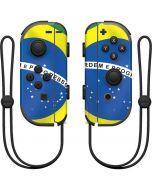 Brazil Flag Nintendo Joy-Con (L/R) Controller Skin