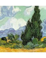 van Gogh - Wheatfield with Cypresses iPhone 6/6s Plus Skin