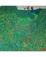 Poppy Field by Gustav Klimt iPhone 8 Pro Case