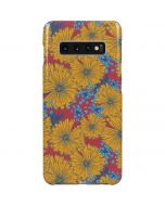 Bright Fall Flowers Galaxy S10 Plus Lite Case