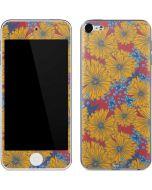 Bright Fall Flowers Apple iPod Skin