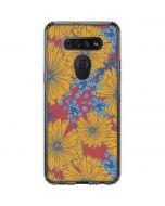 Bright Fall Flowers LG K51/Q51 Clear Case