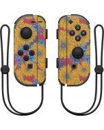Bright Fall Flowers Nintendo Joy-Con (L/R) Controller Skin