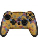 Bright Fall Flowers PlayStation Scuf Vantage 2 Controller Skin