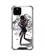 Brilliantly Twisted - The Joker Google Pixel 5 Clear Case