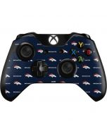 Denver Broncos Blitz Series Xbox One Controller Skin