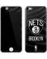 Brooklyn Nets Black Animal Print Apple iPod Skin