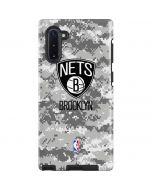 Brooklyn Nets Digi Camo Galaxy Note 10 Pro Case