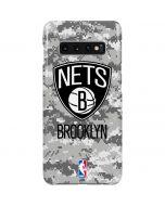 Brooklyn Nets Digi Camo Galaxy S10 Plus Lite Case