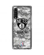 Brooklyn Nets Digi Camo LG Velvet Clear Case