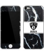 Brooklyn Nets Marble Apple iPod Skin