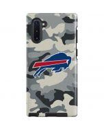Buffalo Bills Camo Galaxy Note 10 Pro Case