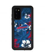 Buffalo Bills Tropical Print Galaxy S20 Waterproof Case