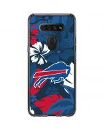 Buffalo Bills Tropical Print LG K51/Q51 Clear Case