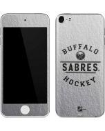 Buffalo Sabres Black Text Apple iPod Skin
