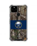 Buffalo Sabres Realtree Xtra Camo Google Pixel 5 Clear Case