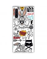 Bugs Bunny Patches Galaxy Note 10 Clear Case