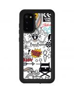 Bugs Bunny Patches Galaxy S20 Waterproof Case