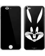Bugs Bunny Plain Black and White Apple iPod Skin