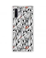 Bugs Bunny Super Sized Galaxy Note 10 Clear Case