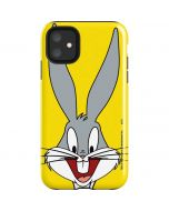Bugs Bunny Zoomed In iPhone 11 Impact Case