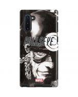 Bullseye Grunge Galaxy Note 10 Pro Case