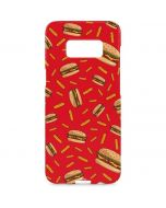 Burgers and Fries Galaxy S8 Plus Lite Case