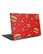 Burgers and Fries Dell Latitude Skin
