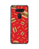 Burgers and Fries LG K51/Q51 Clear Case