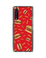 Burgers and Fries LG Velvet Clear Case