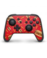 Burgers and Fries Nintendo Switch Pro Controller Skin