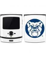 Butler Bulldog Logo Motorola RAZR Skin