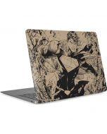 BW Superman Sketch Apple MacBook Air Skin